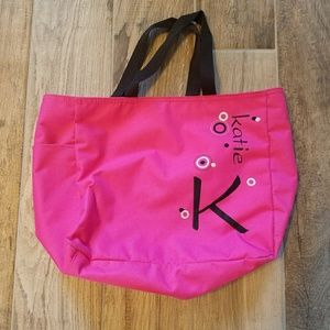 Katie personalized tote bag